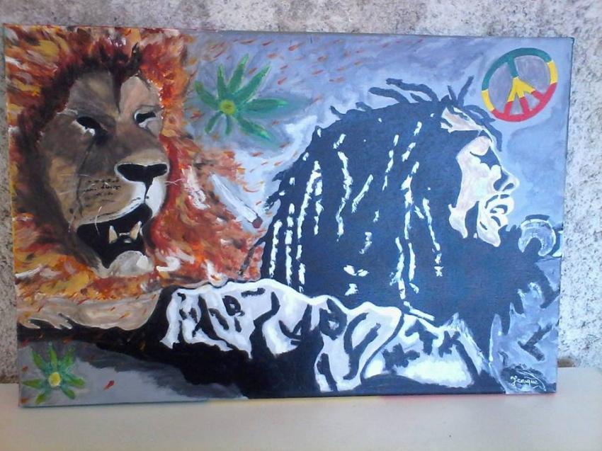 Bob Marley by cristal74
